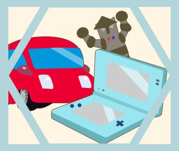 ゲームコンテンツの企画、開発、販売